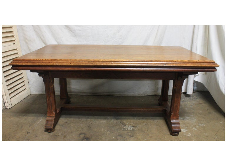 Late 19th Century French Table Desk For Sale 4