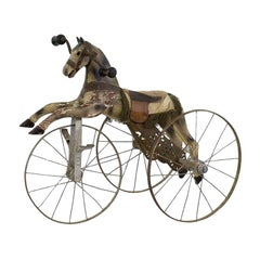 Late 19th Century French Tricycle Horse