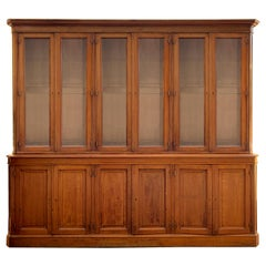 Late 19th Century French Twelve-Door Cabinet