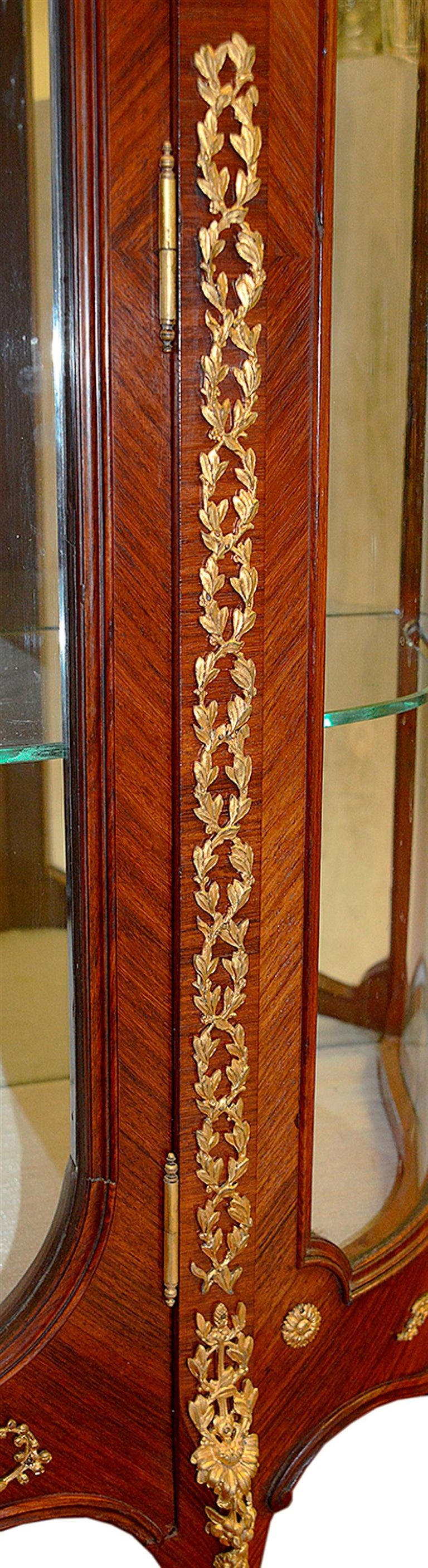 Late 19th Century French Vitrine by Francoise Linke For Sale 1