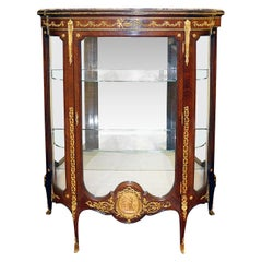 Late 19th Century French Vitrine by Francoise Linke