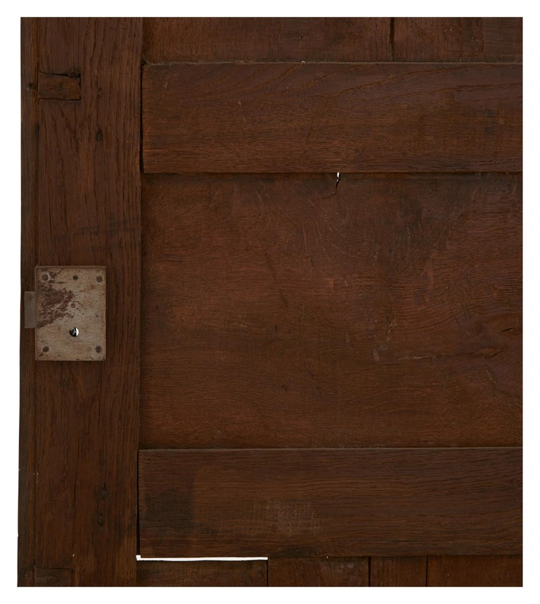 Late 19th Century French Wooden Wardrobe For Sale 7