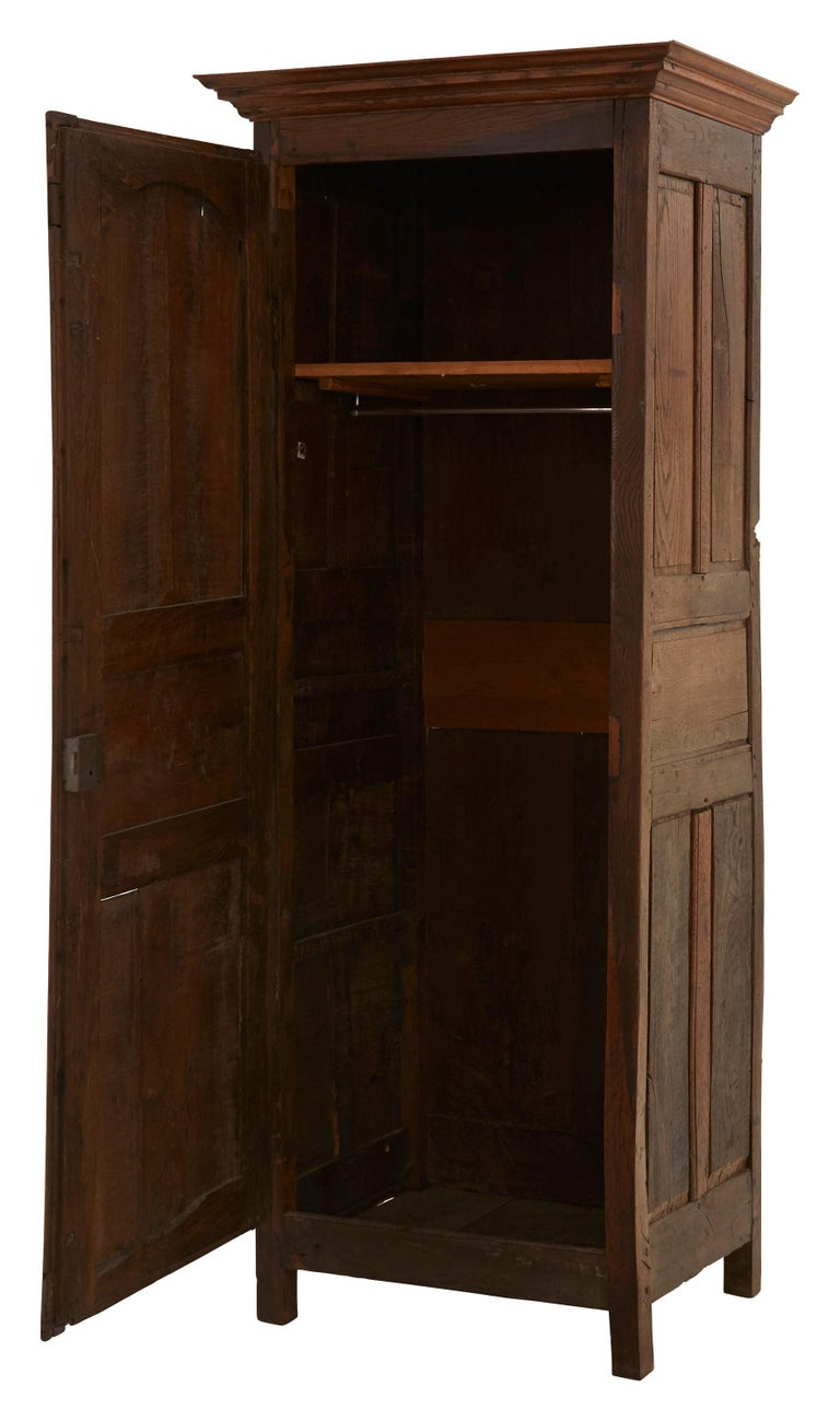 Late 19th Century French Wooden Wardrobe For Sale 2