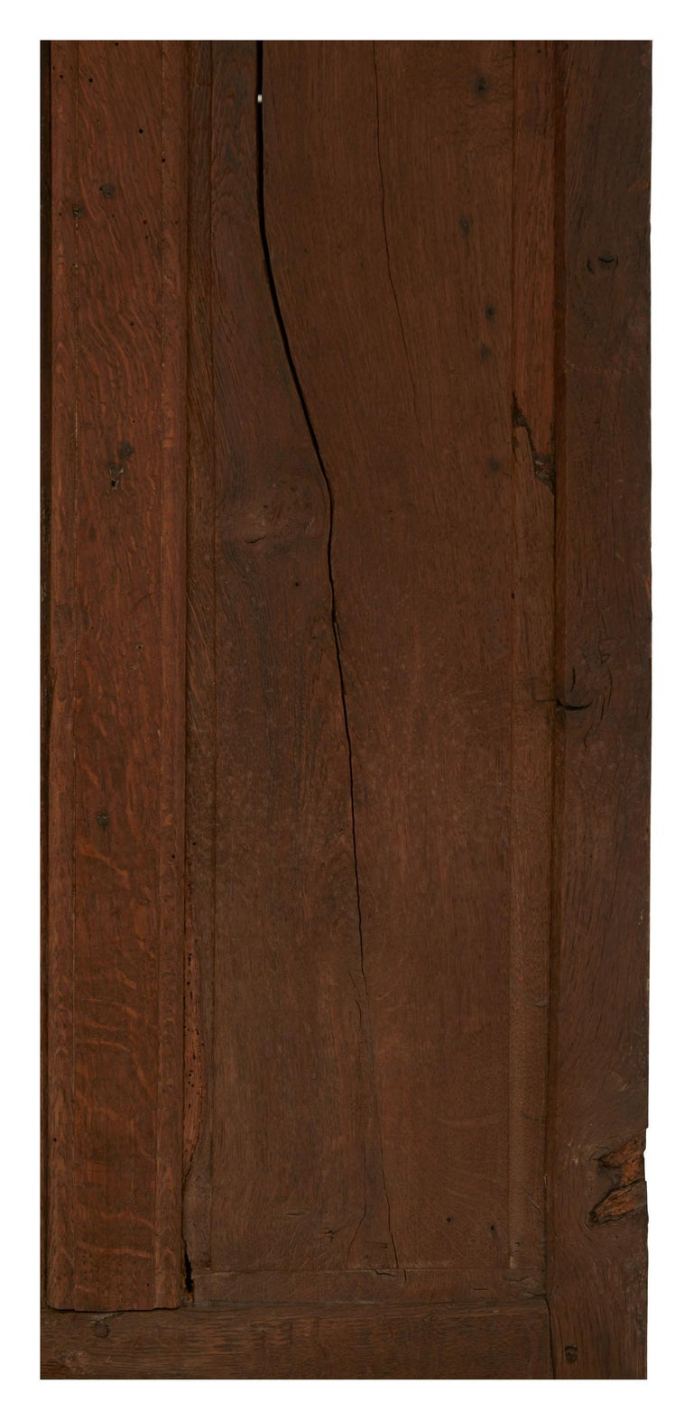 Late 19th Century French Wooden Wardrobe For Sale 4