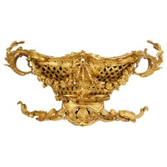 Late 19th Century Gilded Ormolu Centre Piece