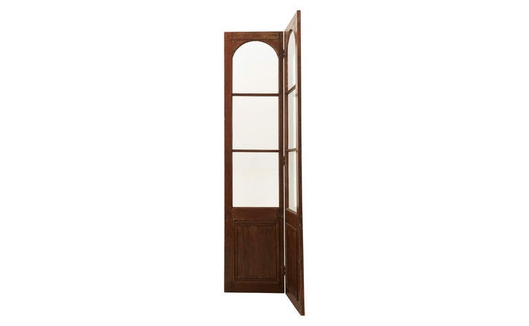 Spates 19 Jahrhundert Glas Und Holz Raumteiler Im Angebot Bei 1stdibs