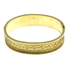Late 19th Century Gold Bangle