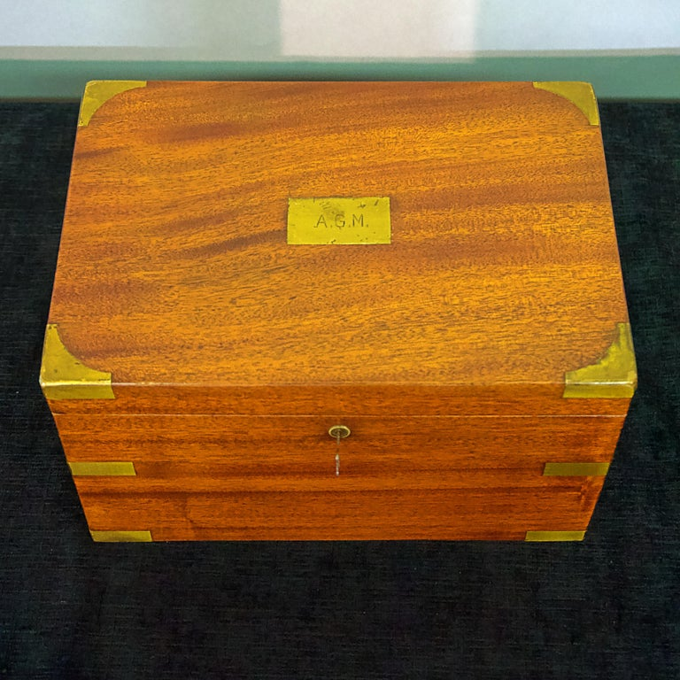 American Late 19th Century Humidor For Sale
