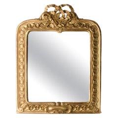 Late 19th Century Italian Giltwood Mirror, circa 1890