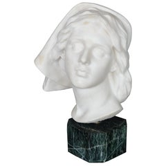Late 19th Century Italian Marble Bust