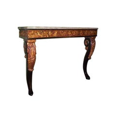 Late 19th Century Italian Onyx Top Console