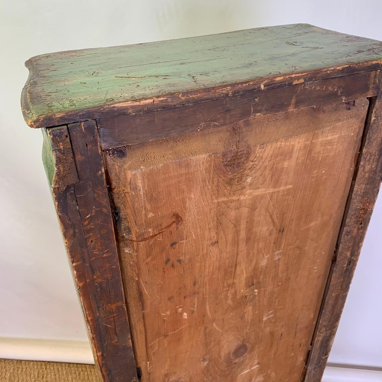 Late 19th Century Italian Paint Decorated Semanier For Sale 5
