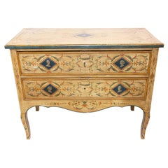 Late 19th Century Italian Painted Commode