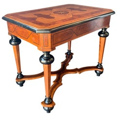 Late 19th Century Italian Parquetry Table