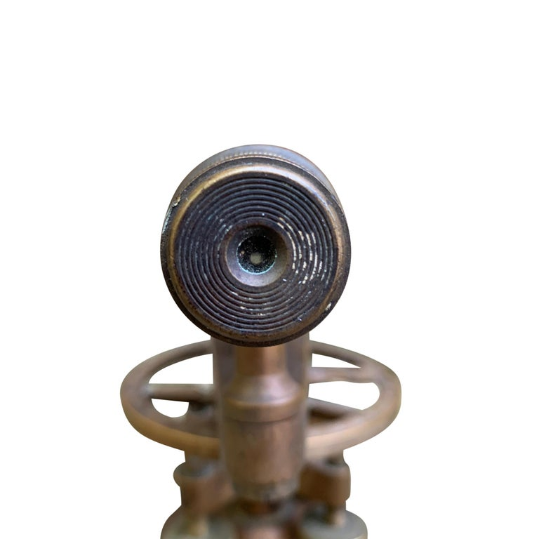Late 19th Century L. Beckmann Co. Bronze Sextant For Sale 9