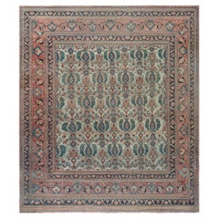 Late 19th Century Large Persian Khorassan Rug
