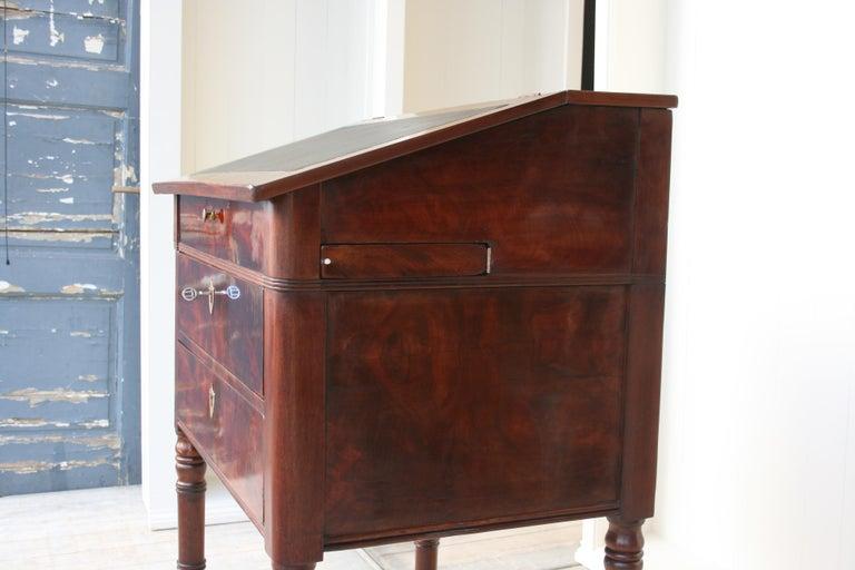 Late 19th Century Lectern / High Desk, Mahogany Shellac Polished 5