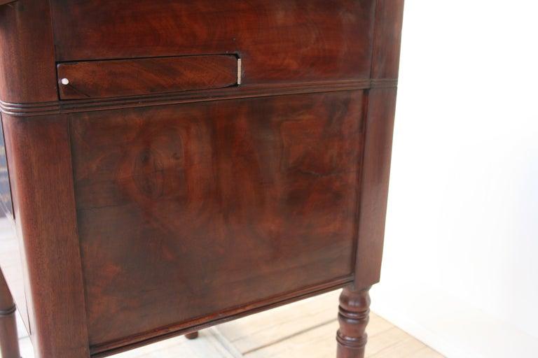 Late 19th Century Lectern / High Desk, Mahogany Shellac Polished For Sale 6