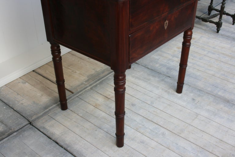 Late 19th Century Lectern / High Desk, Mahogany Shellac Polished For Sale 8