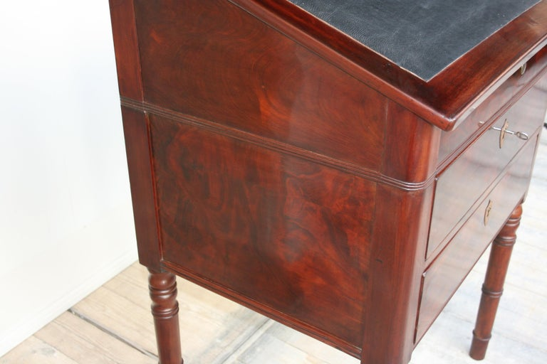 Late 19th Century Lectern / High Desk, Mahogany Shellac Polished For Sale 9