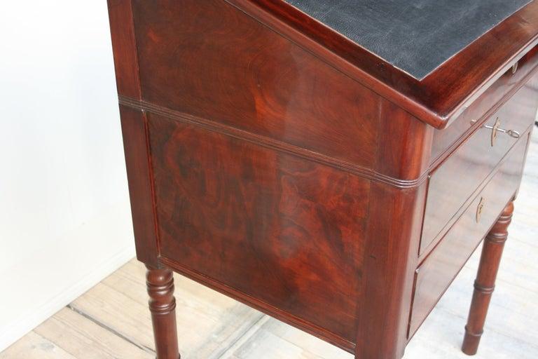 Late 19th Century Lectern / High Desk, Mahogany Shellac Polished 9