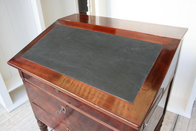 Late 19th Century Lectern / High Desk, Mahogany Shellac Polished 10