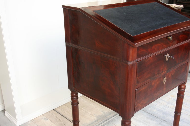 Late 19th Century Lectern / High Desk, Mahogany Shellac Polished For Sale 11