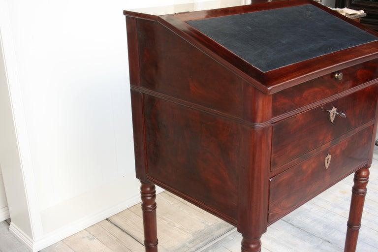 Late 19th Century Lectern / High Desk, Mahogany Shellac Polished 11
