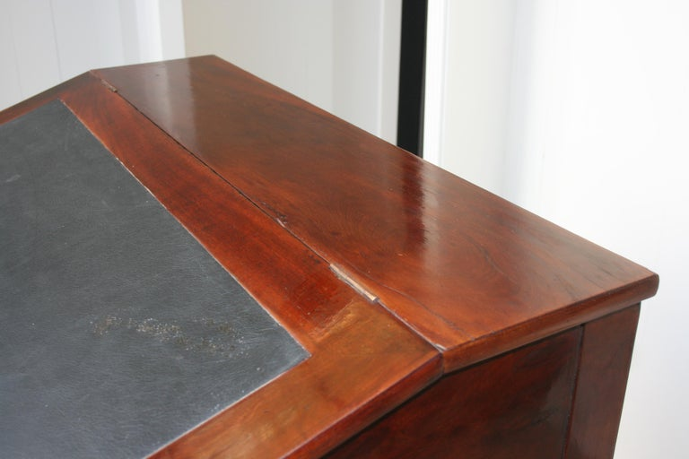 Late 19th Century Lectern / High Desk, Mahogany Shellac Polished For Sale 12