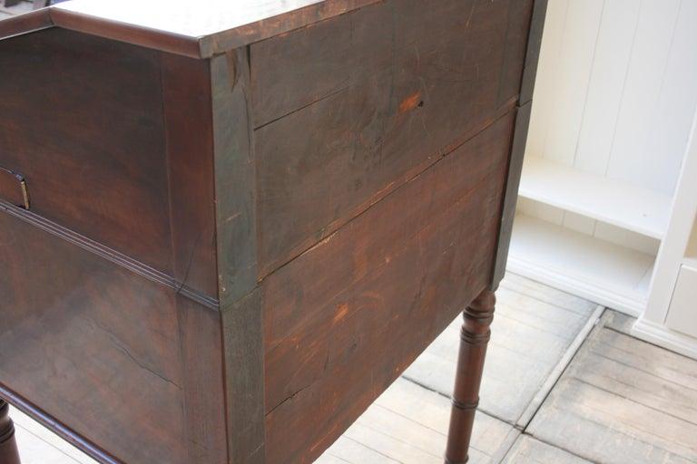 Late 19th Century Lectern / High Desk, Mahogany Shellac Polished 13