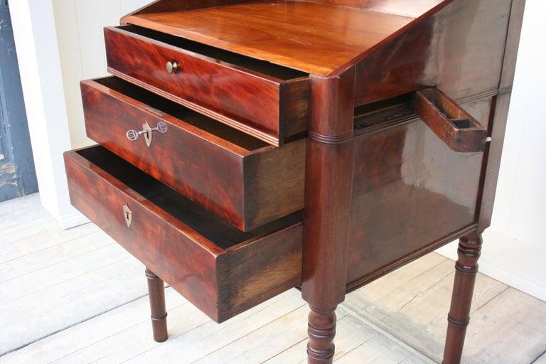 Late 19th Century Lectern / High Desk, Mahogany Shellac Polished 2
