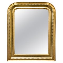 Late 19th Century Louis Philippe Gilded Mirror