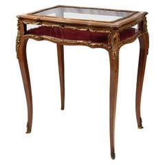 Late 19th Century Louis XVI Style Bijouterie / Display Table
