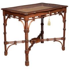 Late 19th Century Mahogany Bijouterie Table