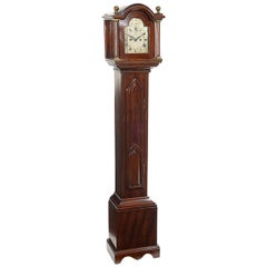 Late 19th Century Mahogany Grandmother Clock