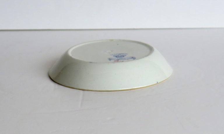 Late 19th Century Mason's Ironstone Small Dish or Pin Tray Water Lily Pattern For Sale 4