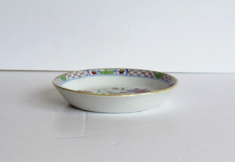Late 19th Century Mason's Ironstone Small Dish or Pin Tray Water Lily Pattern For Sale 2