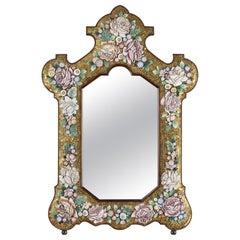 Late 19th Century Micromosaic Mirror, Venice