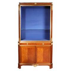 Late 19th Century Napoleon III French Vitrine Cabinet