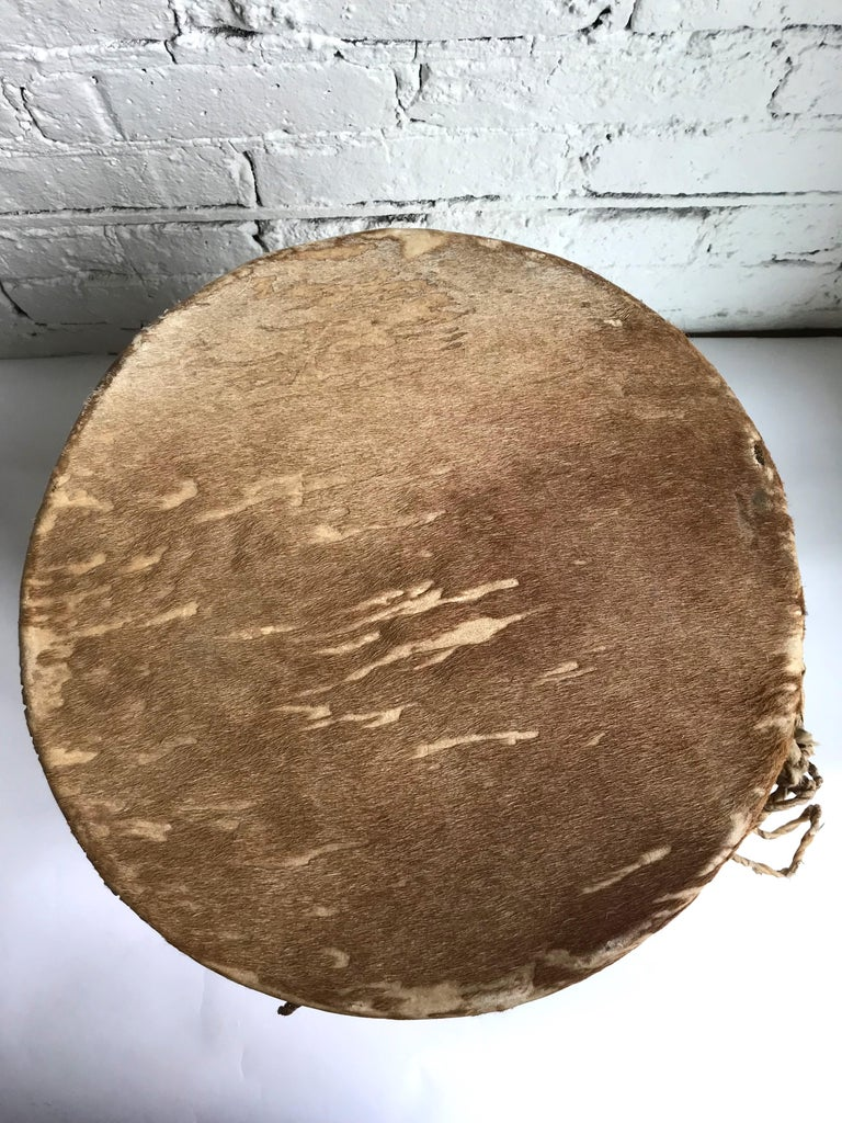 Late 19th Century Native American Drum For Sale 6