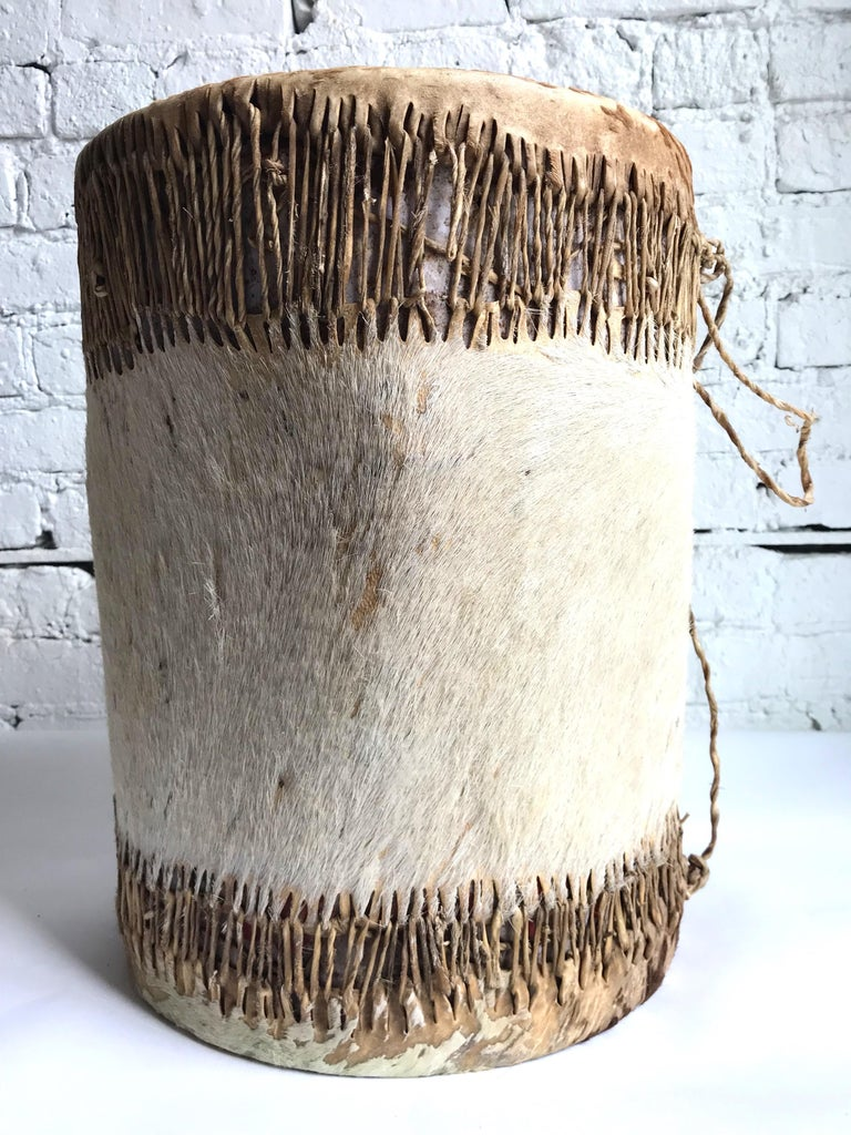 Late 19th Century Native American Drum For Sale 4