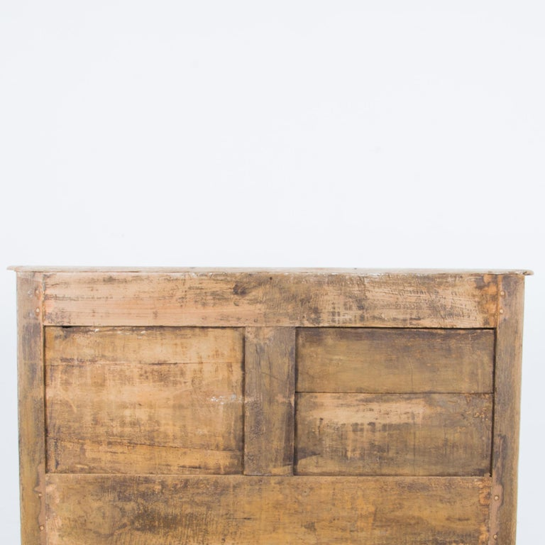 Late 19th Century Oak Chest of Drawers For Sale 5
