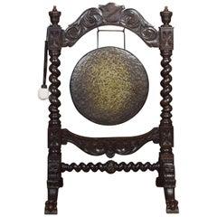 Late 19th Century Oak Dinner Gong