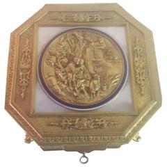 Late 19th Century Octagonal Enamel Box