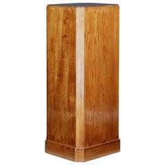 Late 19th Century Octagonal Pine Pedestal