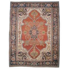 Late 19th Century Persian Serapi Rug