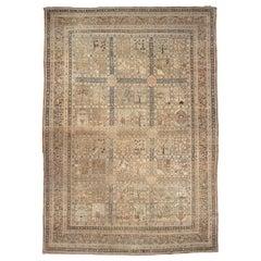 Late 19th Century Persian Tabriz Rug