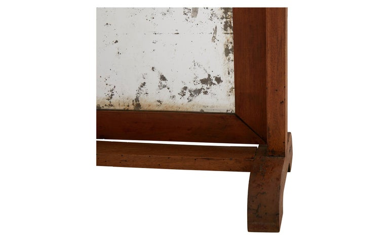 Late 19th Century Rectangle Dressing Table Mirror In Good Condition For Sale In Chicago, IL