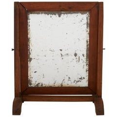 Late 19th Century Rectangle Dressing Table Mirror
