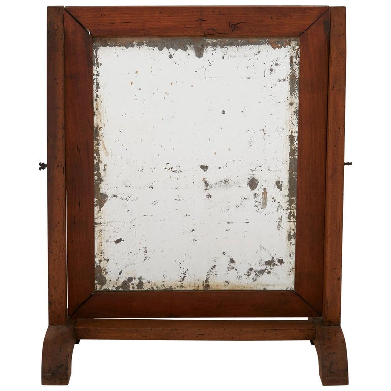 Late 19th Century Rectangle Dressing Table Mirror For Sale
